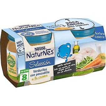 Nestlé Vegetables with Nightmare Cream 2x200 gr (Childhood , Food , Pots)