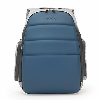 "Fedon 1919 NJ Backpack Jersey Light Blue Rucksack Zaino 13"" Laptop Notebook MacBook Blau"
