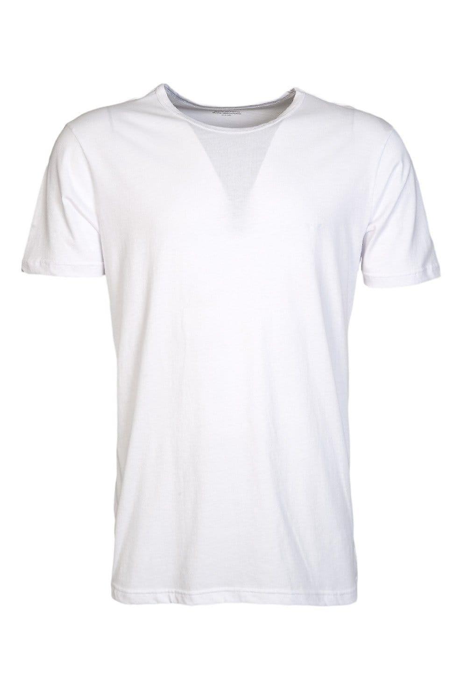 Emporio Armani Emporio Armani 3 Pack Underwear T-shirts In Black And White 110821CC712