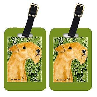 Carolines Treasures  SS8804BT Pair of 2 Lakeland Terrier Luggage Tags