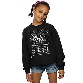 Slipknot Girls 9 Point Christmas Sweatshirt