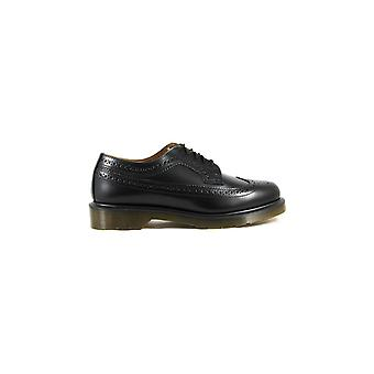 DR. MARTENS 3989 BROGUE SMOOTH BLACK LACE UP