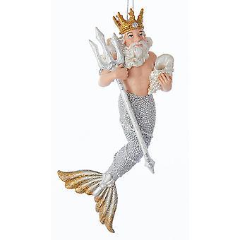 Under havet Kong Neptun Christmas Holiday Ornament