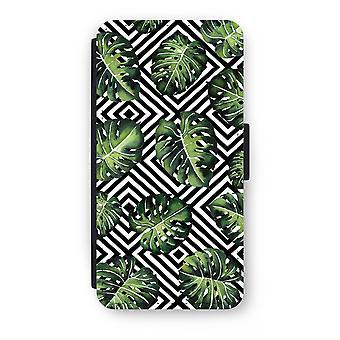 iPhone 8 Plus Flip Case - geometrische Dschungel