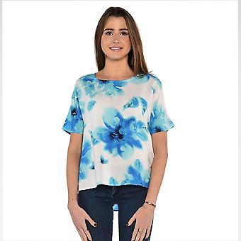 Watery Flower Boxy Top