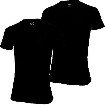 Jockey 2-Pack Next Gen 3D Innovations T-Shirts, Black