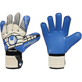 UHLSPORT ELIMINATOR SUPERSOFT  Goalkeeper Gloves Size