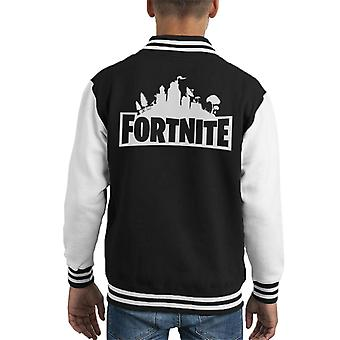 Fortnite Logo Kid's Varsity Jacket