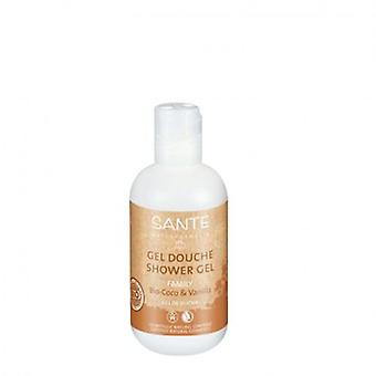 Sante Shower Gel Bio Coconut and Vanilla 200 ml