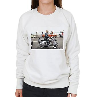 Sting On A Moped In Quadrophenia Women's Sweatshirt