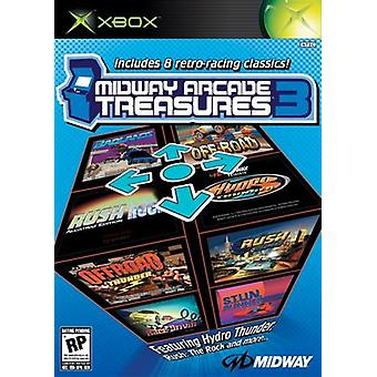 Midway Arcade Treasures 3 (Xbox) - Factory Sealed
