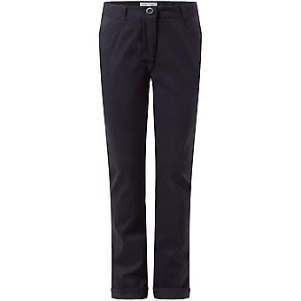 Craghoppers Girls Dunally Stretchy Smart Travel Walking Trousers