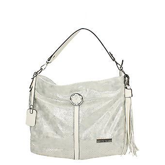Ladies Rieker Shoulder Bag H1435-90 - Silver/Platinum Synthetic - One Size