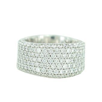 ESPRIT collection ladies ring silver zirconia Aphrodite ELRG91614A