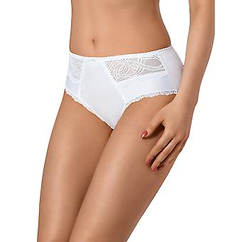 Vena VF-330 Women's White Solid Colour Knickers Panty Brief