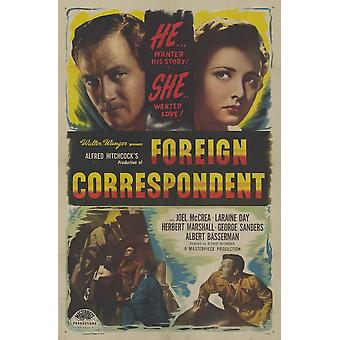 Foreign Correspondent Movie Poster (11 x 17)