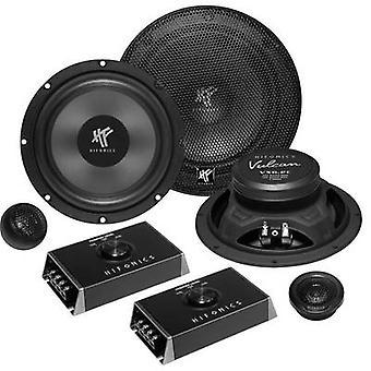 Hifonics VX - 6.2 C 2 høyttalersett måte innfeldt 200 W