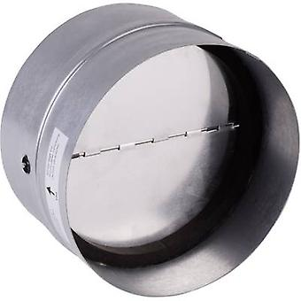 Backflow flap incl. rubber sealing Suitable for pipe diameter: 12.5 cm Wallair