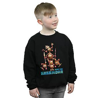 Disney Boys Moana Fear The Kakamora Sweatshirt