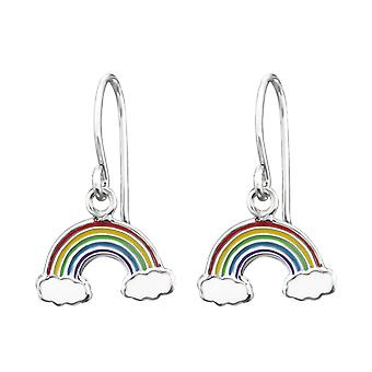 Rainbow - 925 Sterling Silver Earrings - W30321x
