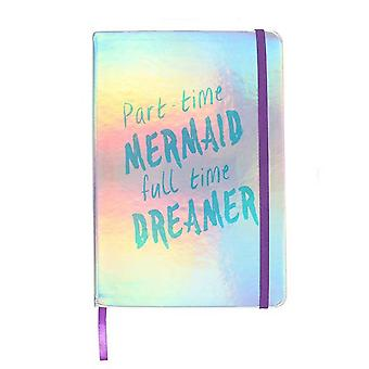Something Different Part time Mermaid A5 Notebook