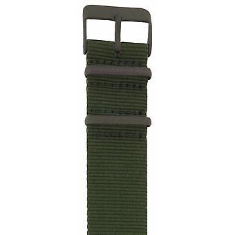 ZOPPINI groene horlogebandje
