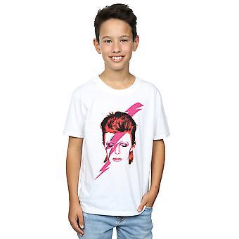 David Bowie Boys Aladdin Sane Lightning Bolt T-Shirt