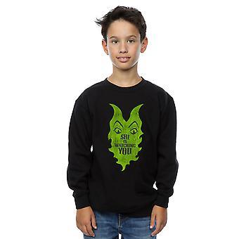 Disney jungen Nachkommen Maleficent sie schaut Sweatshirt
