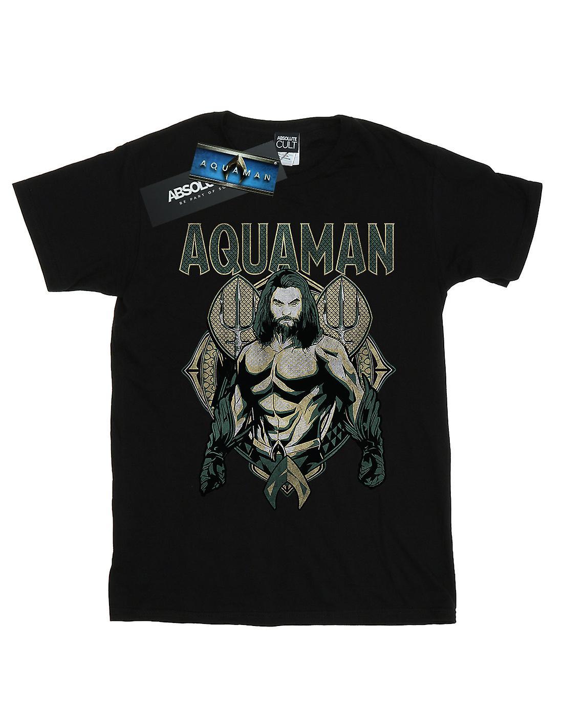 DC Comics vrouwen Aquaman schalen Boyfriend Fit T-Shirt
