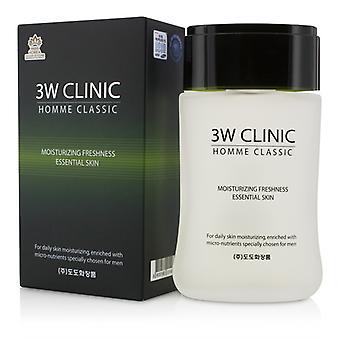 3w Clinic Homme Classic - Moisturizing Freshness Essential Skin - 150ml/5oz