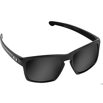 Best SEEK Polarized Replacement Lenses Oakley SLIVER Black Iridium Blue Mirror