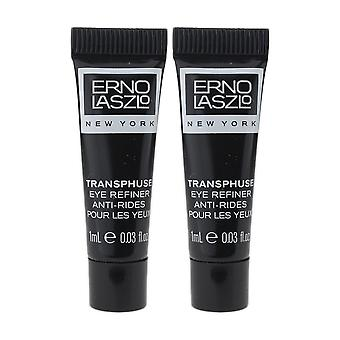 Erno Laszlo Transphuse Eye Refiner 0.03oz/1ml New Travel Size (Pack Of 2)