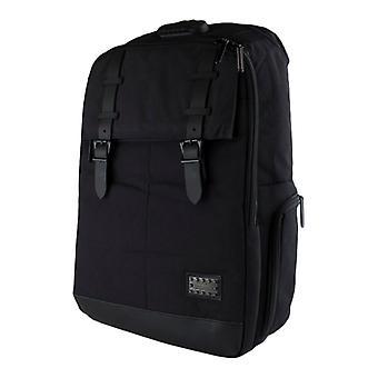 Großer Laptop-Rucksack mit 3-stelligen Zahlenschloss, USB-Port-schwarz