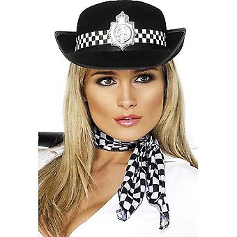 Policewoman's Hat, One Size