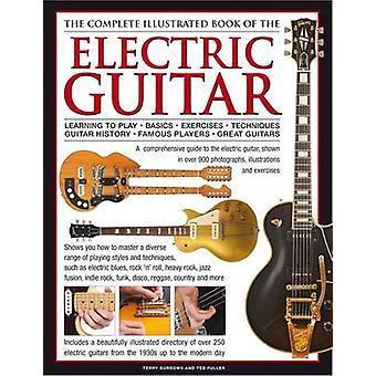 Remplir un livre illustré de la guitare - apprendre à jouer-
