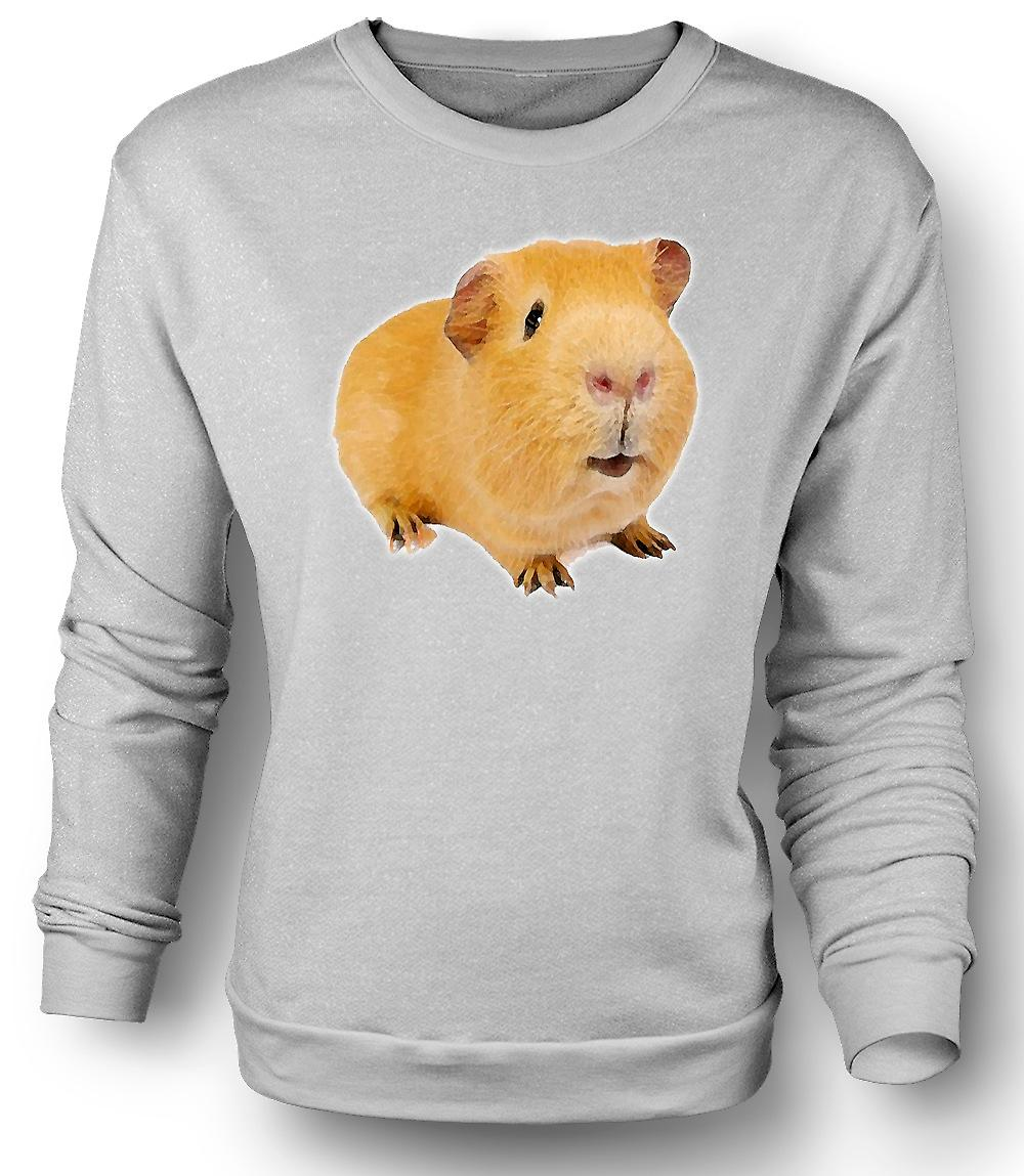 Mens Sweatshirt Guinea Pig 2 - Heimtier