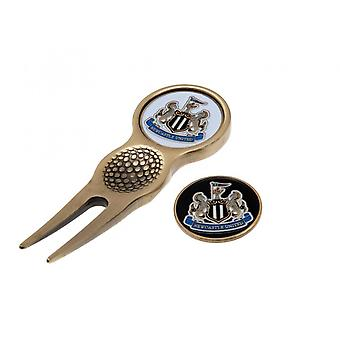 Newcastle United FC Divot Tool And Marker