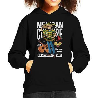 Mexican Culture Kid's Hooded Sweatshirt