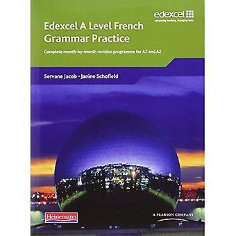 Edexcel A niveau Français grammaire pratique livre