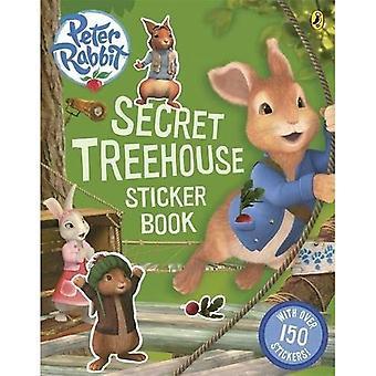 Animazione di Peter Rabbit: Libro di attività segreto Treehouse Sticker