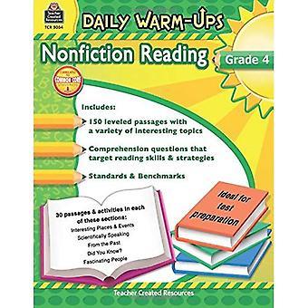 Daily Warm-Ups: Nonfiction Reading: Grade 4