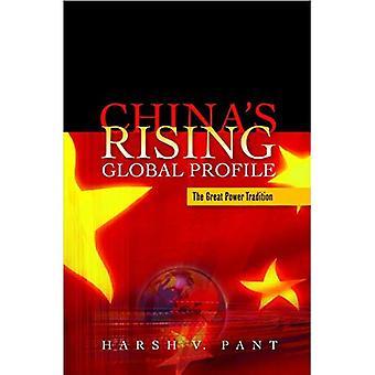 China ist globales Profil steigen: die Großmacht-Tradition