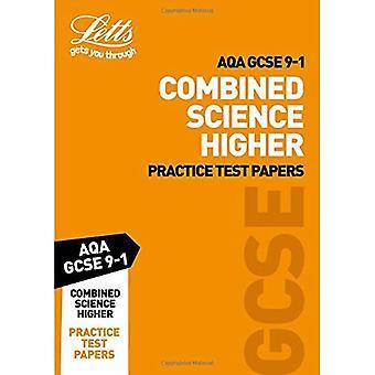 AQA GCSE 9-1 kombineras vetenskap högre praktiken Test papper (Letts GCSE 9-1 Revision framgång) (Letts GCSE 9-1 Revision framgång)