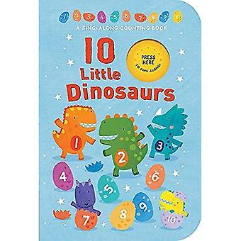 10 Little Dinosaurs [Board book]