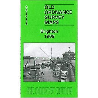 Brighton 1909: Sussex Sheet 66.09 (Old Ordnance Survey Maps of Sussex)