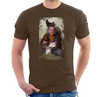 TV Times Sid James Two In Clover 1969 Men's T-Shirt