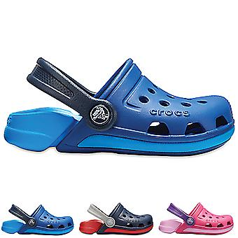 Unisex Kids Crocs Electro III Clogs Beach Summer Holiday Lightweight Shoe