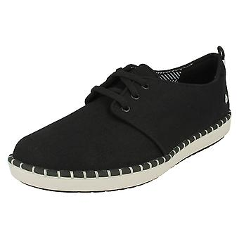 Ladies Clarks Casual Lace Up Trainers Step Glow Lace