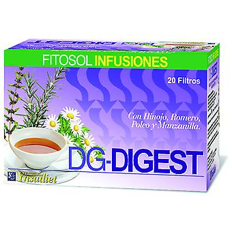 Ynsadiet Dg infusion Digest 20 Envelopes (Herboristeria , Infusions)