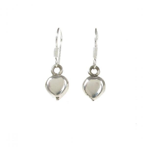 Cavendish French Simple Little Silver Heart Earrings